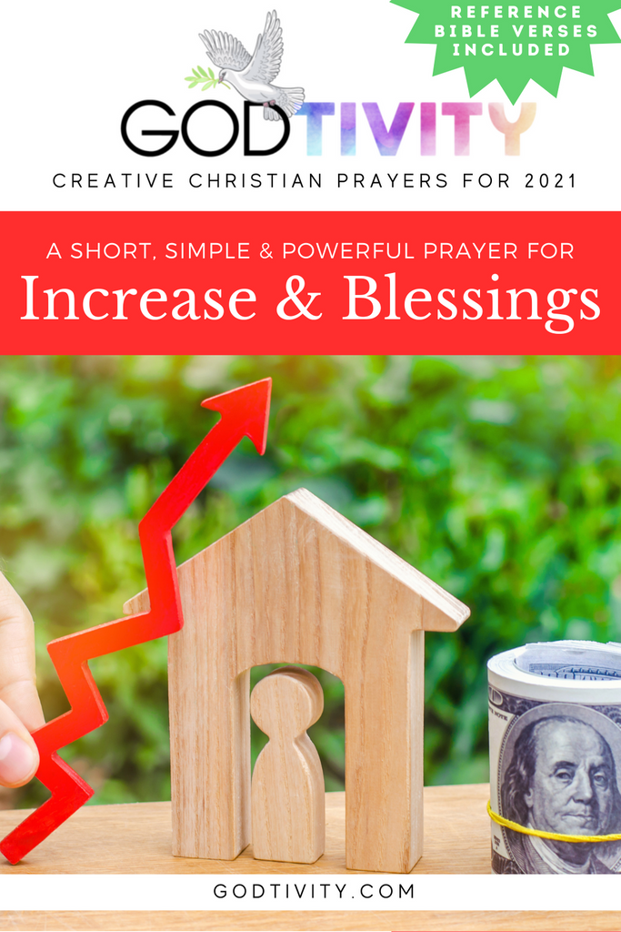 A Prayer For Increase & Blessings
