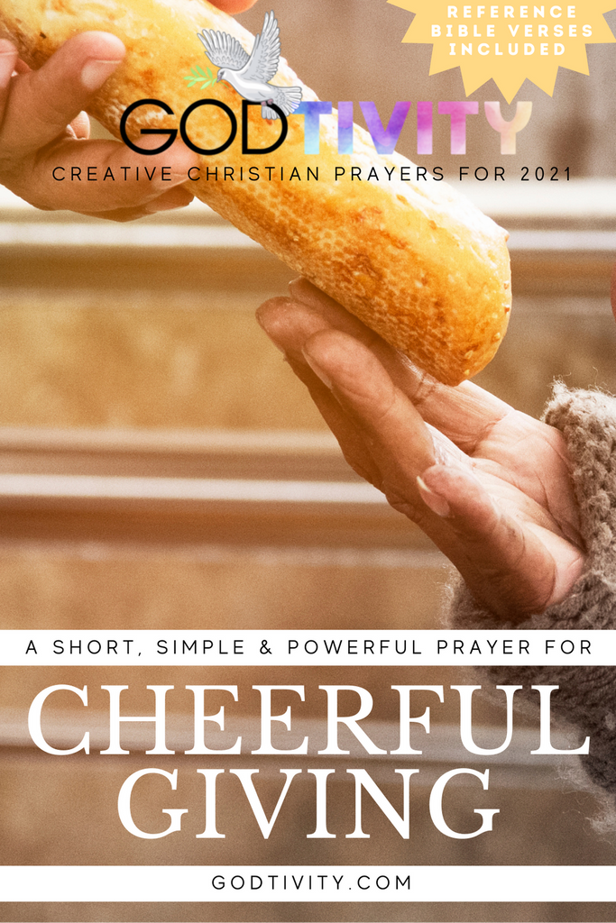 A Prayer For Cheerful Giving
