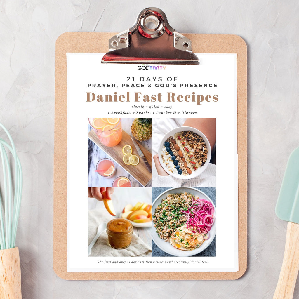 21 Day Recipes Cards