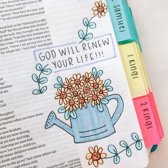 Bible Verse Journaling And Coloring Pages