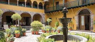 The capital of cool : Hotel Monasterio, Cusco