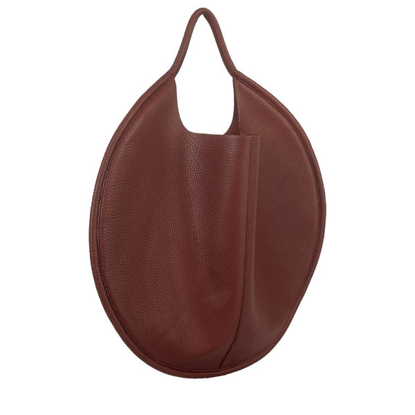 Disco Leather Bag Maroon