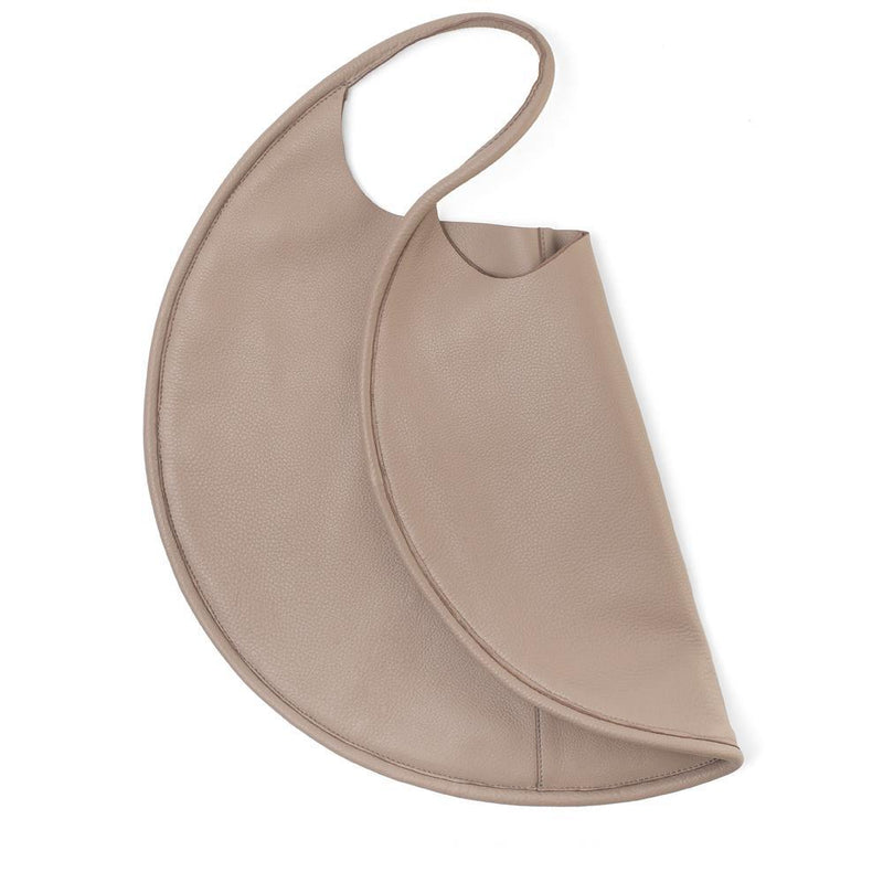 Disco Leather Bag Taupe - My Paloma