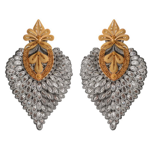 'Cairo' Earrings Silver