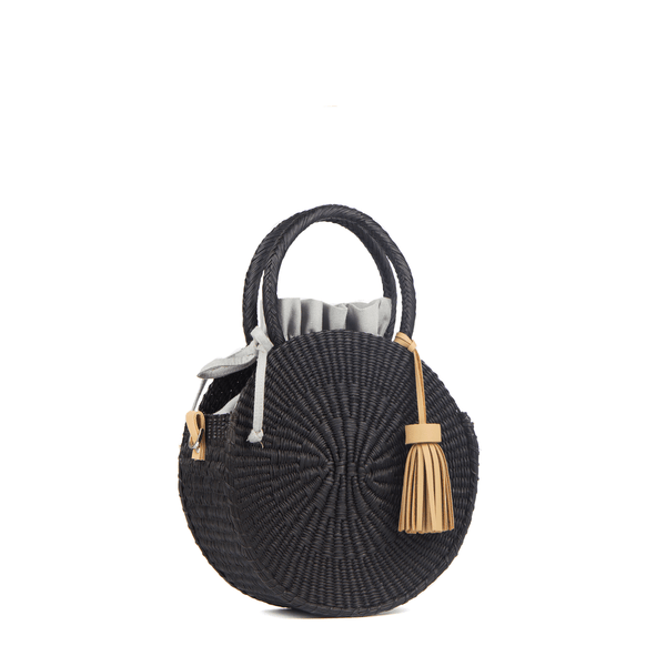 Iris Basket Bag black