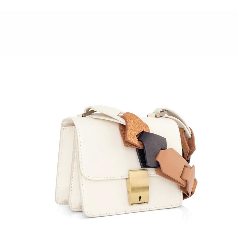 Mini Messenger Ivory Bag