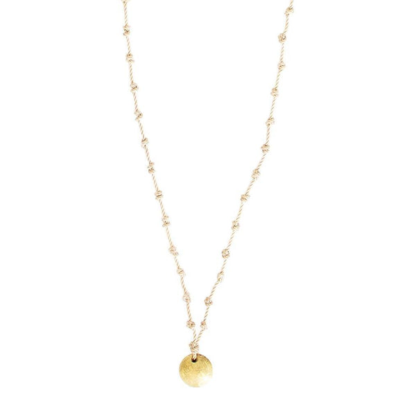 Knotted necklace - My Paloma