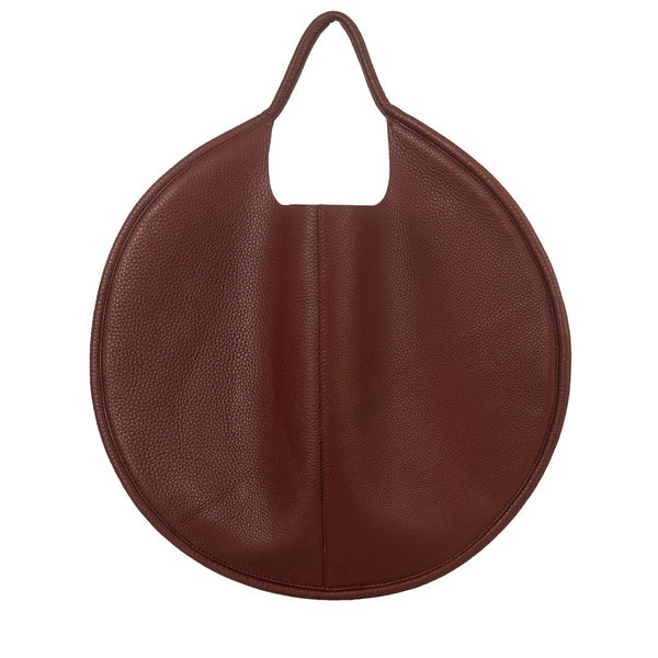Disco Leather Bag Maroon - My Paloma