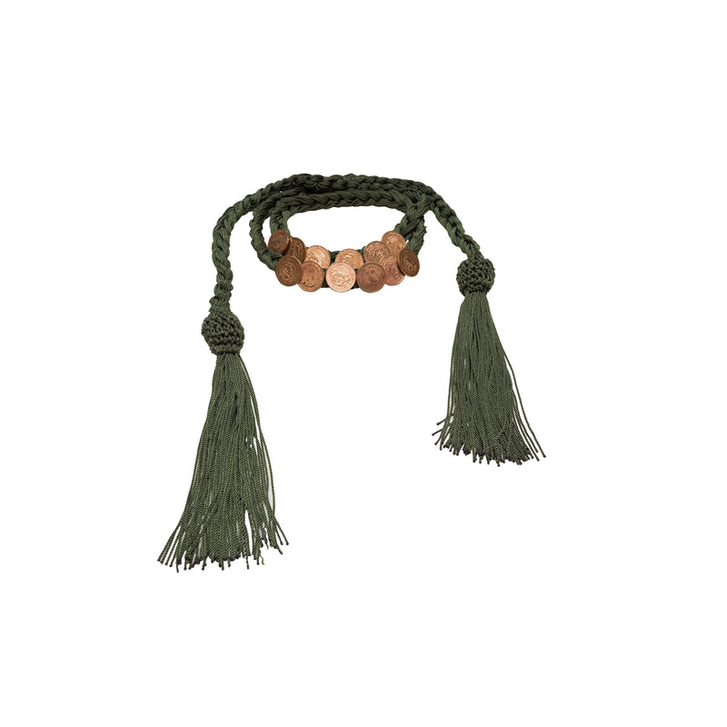 Latigo belt/necklace - My Paloma