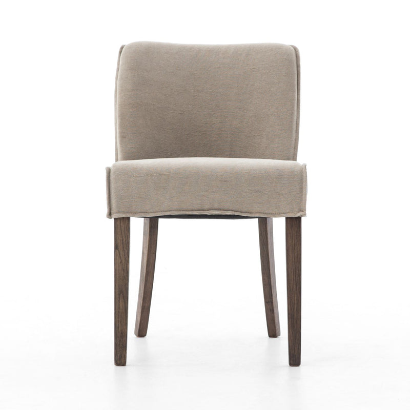 ADELINE TWILL DINING CHAIR-Dining Chairs-Bridget's Room