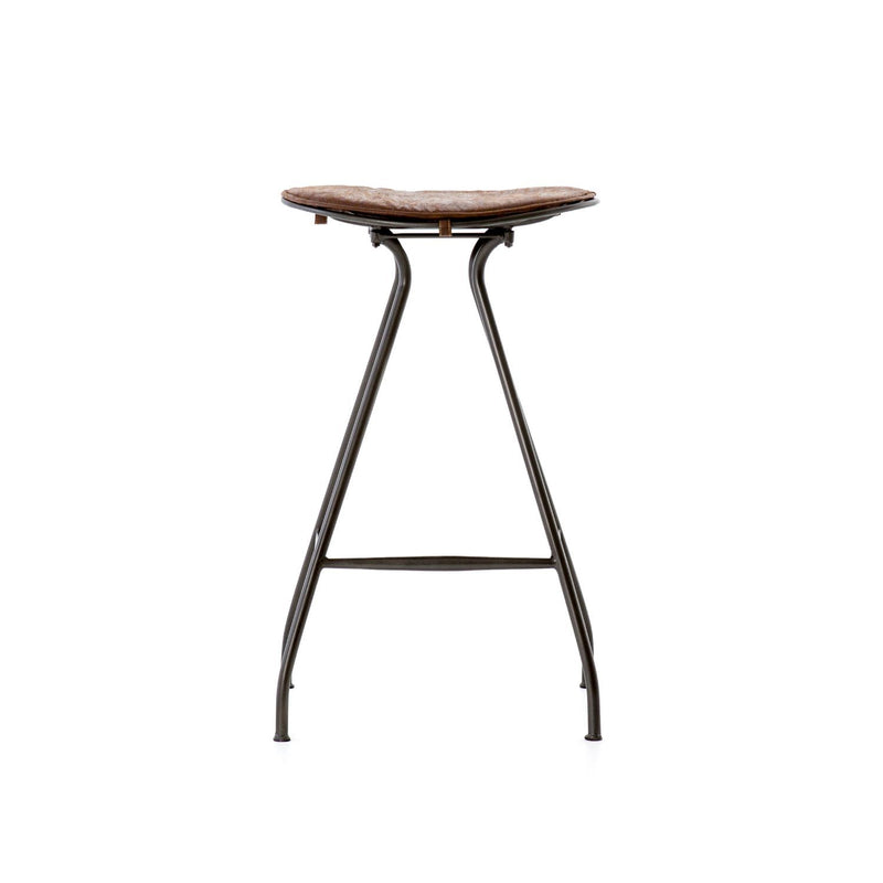 BODIE GE TOBACCO BAR STOOL-Bar & Counter Stools-Bridget's Room