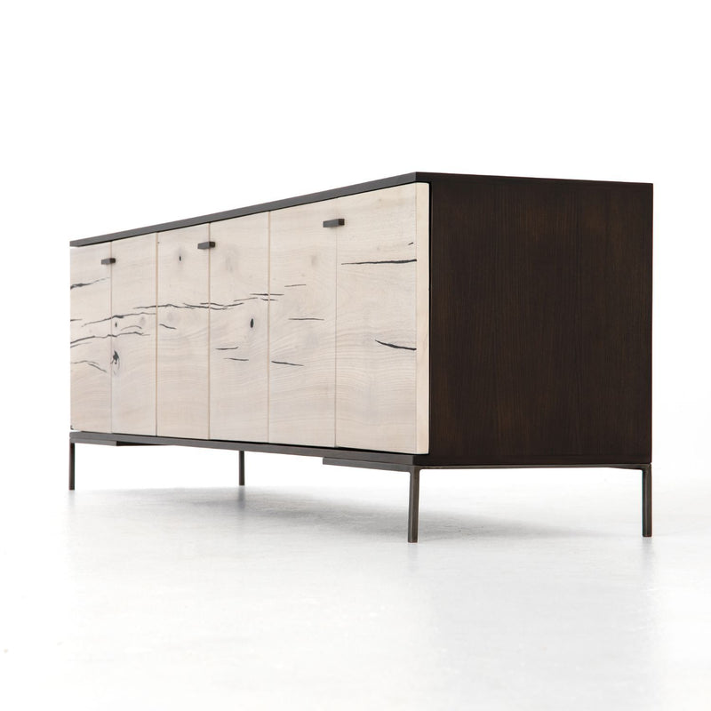 CRUZ BLEACH FRONT CONSOLE-Console Tables & Sideboards-Bridget's Room