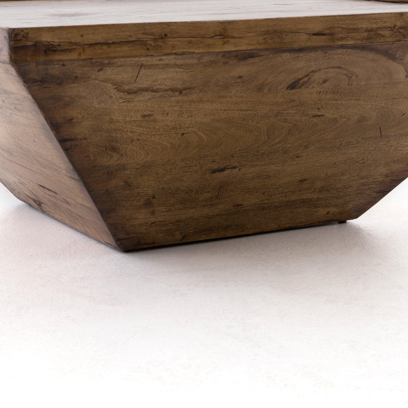 DEREK RECLAIMED FRUITWOOD COFFEE TABLE-Coffee Tables-Bridget's Room