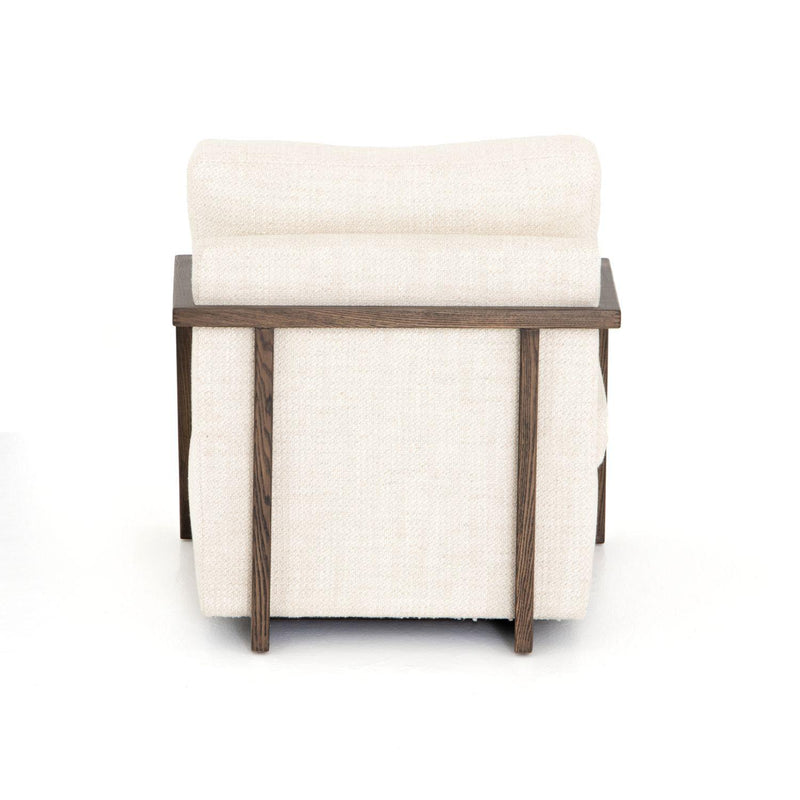 JUDE NG CREAM UPHOLSTERED CHAIR-Occasional Chairs-Bridget's Room