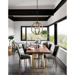 "LEONARDO DINING TABLE 96""-Dining Tables-Bridget's Room"