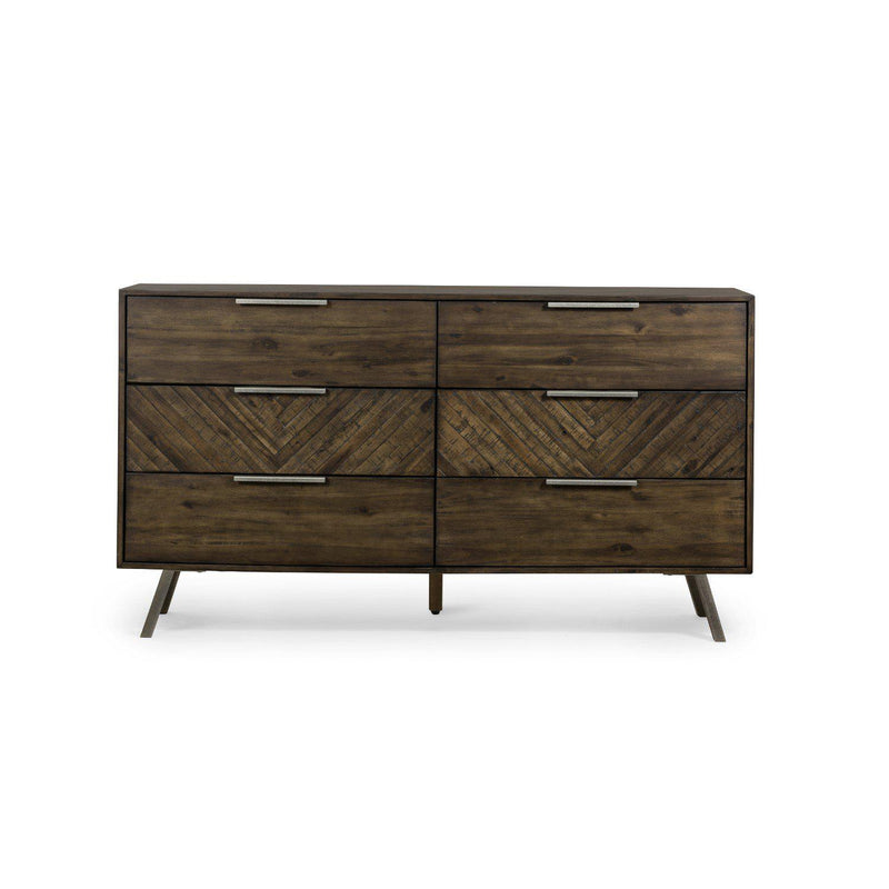 LORRAINE 6 DRAWER DRESSER-Dressers-Bridget's Room