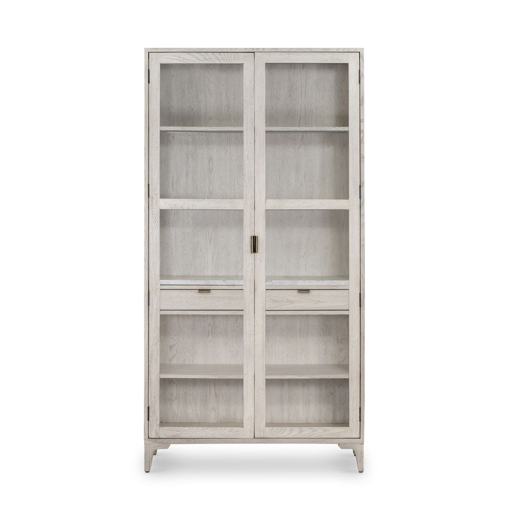 MOLLIE TALL CABINET-Bookcases & Shelving-Bridget's Room