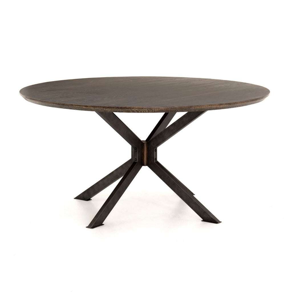 SPECTOR ROUND DINING TABLE-Dining Tables-Bridget's Room