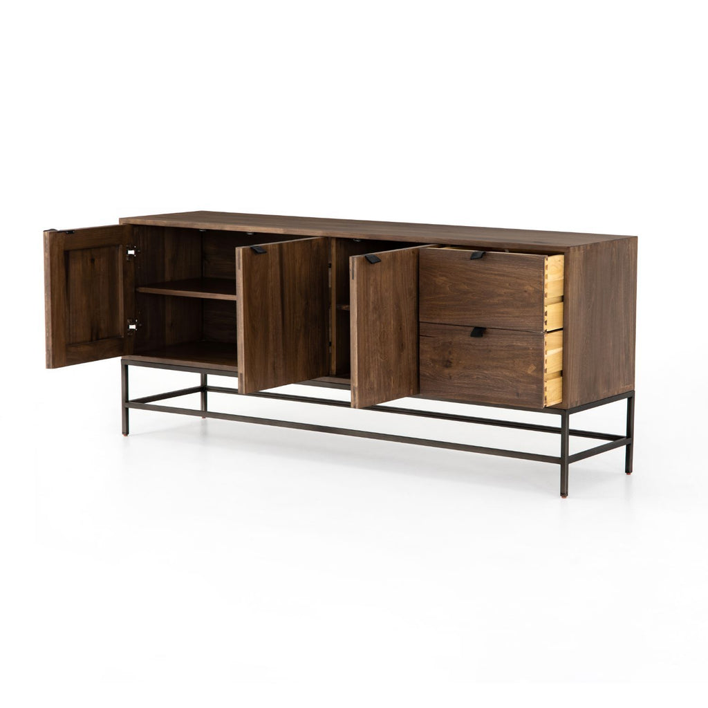 TELLIS SIDEBOARD- NATURAL-Console Tables & Sideboards-Bridget's Room