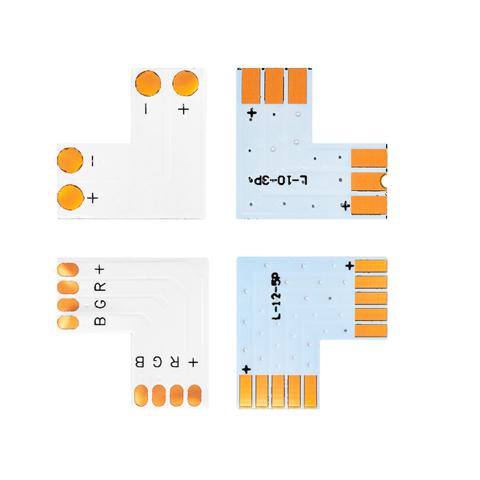 T/L/X PCB Shape Solderless Connector 2pin/3pin/4pin/5pin