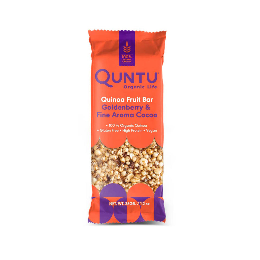 Quinoa with Goldenberry and fine aroma Cocoa - Box of Six
