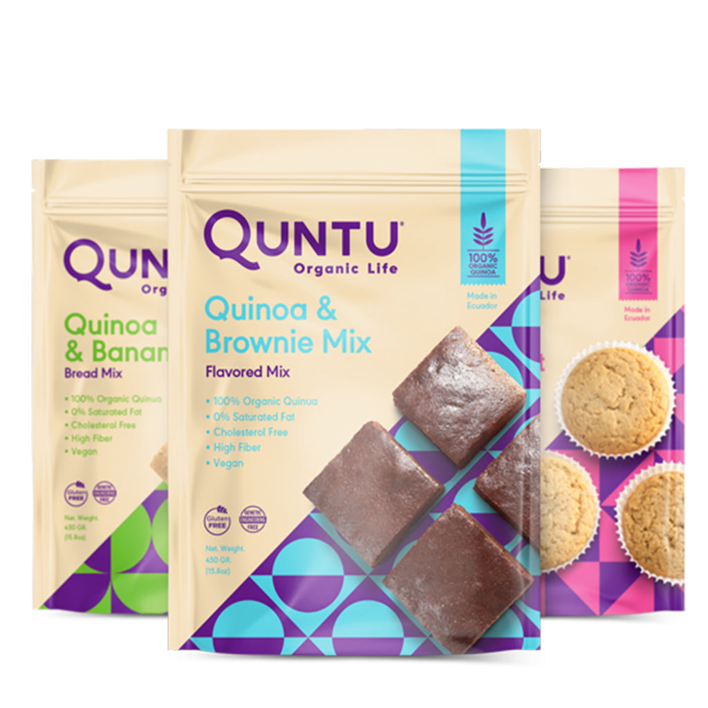 Organic Quinoa and Brownie Bakery Mix