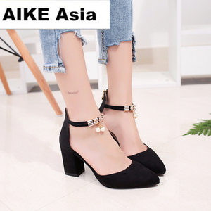 2018 Summer Women Shoes Pointed Toe Pumps