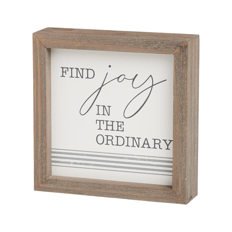 Find Joy Sign
