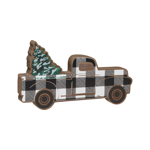 Plaid Truck Tabletop