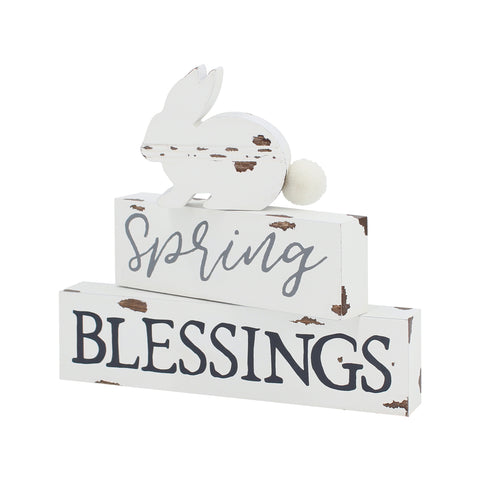 Spring Blessings Sign