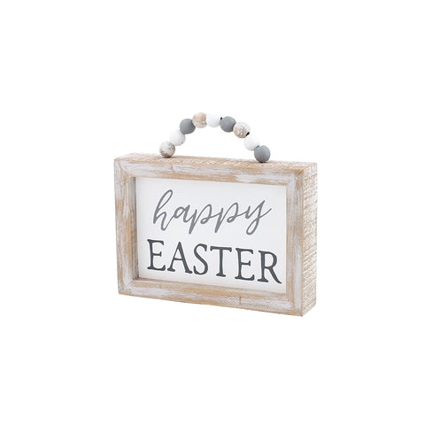 Beaded Easter Sign