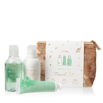 Thymes Travel Set with Beauty Bag