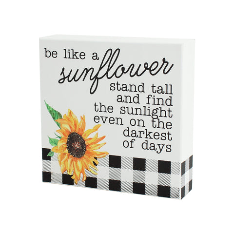 Sunflower Sign