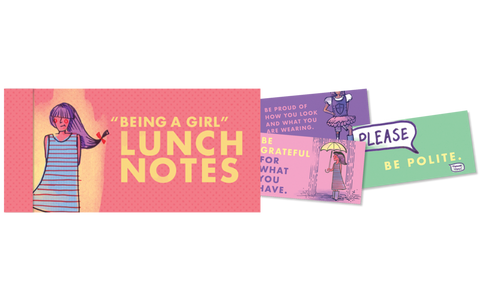 Being A Girl Lunch Notes