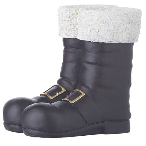 Black Santa Boot Container