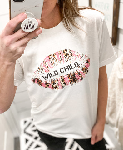 Wild Child Lips T-Shirt