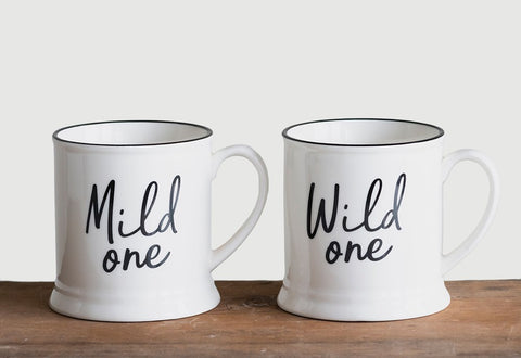 Wild One, Mild One Coffee Mugs