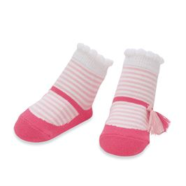 Pink Mary Jane Socks