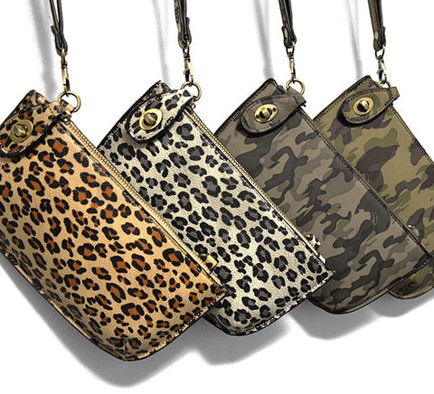 Mini Leopard Clutch