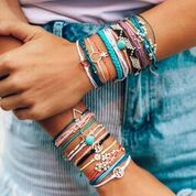 Pura Vida Bright Originals Bracelets in 6 Styles