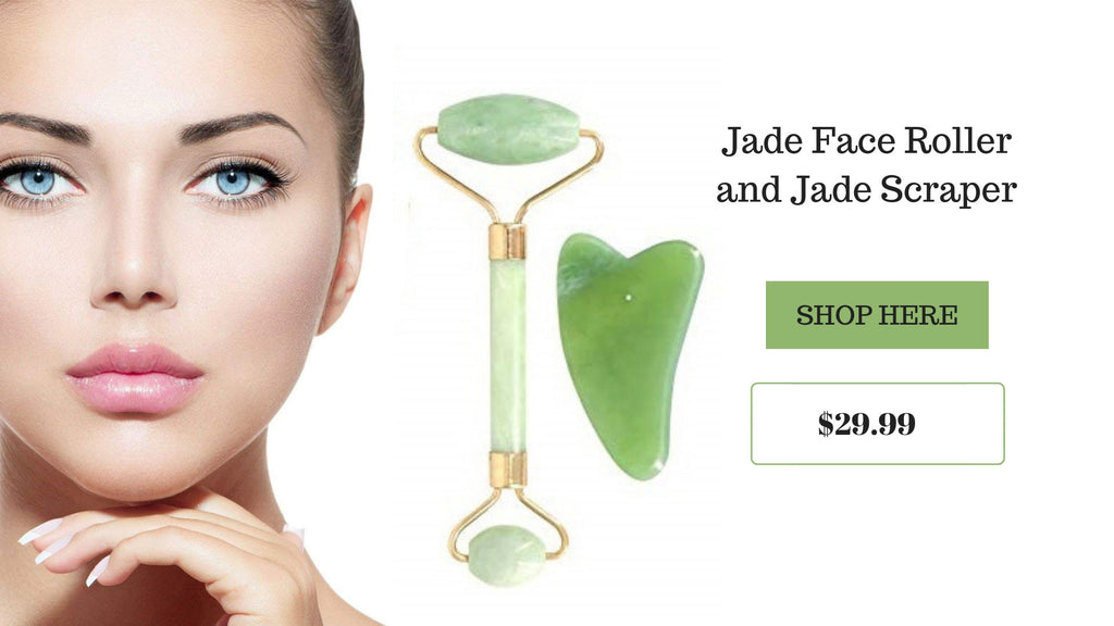 Jade Face Roller - Go Glam Accessories