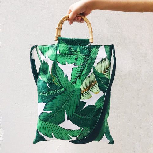 Palm Beach Canvas Bag