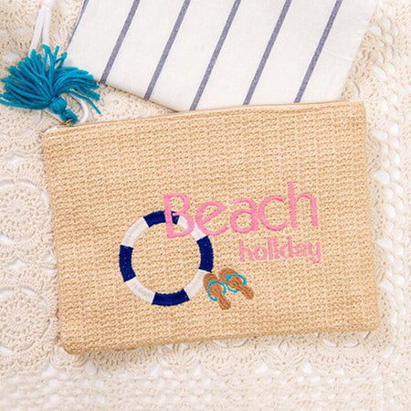 My Beach Straw Bag