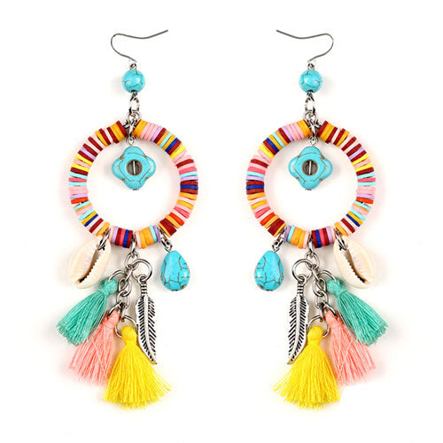 Festive Tassel Earrings
