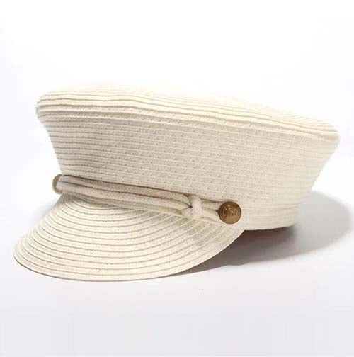 Straw Baker Boy Hat