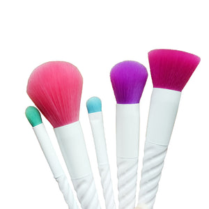 Arctic White Makeup Brushes