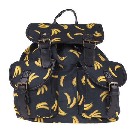 La Banana Canvas Backpack