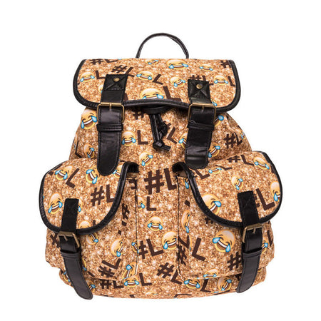 L L Letter Backpack