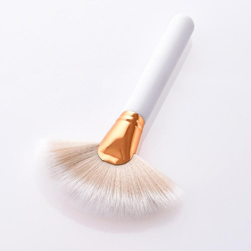 Snowflake White Makeup Brushes