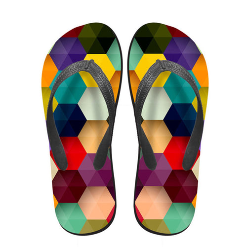 Eva Flip Flops For Women 3D
